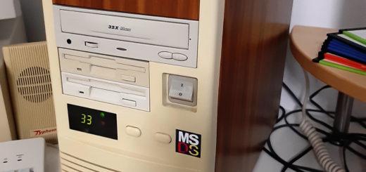Case Modding für meinen 486er PC