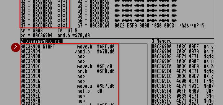 Amiga Assembler MonAm