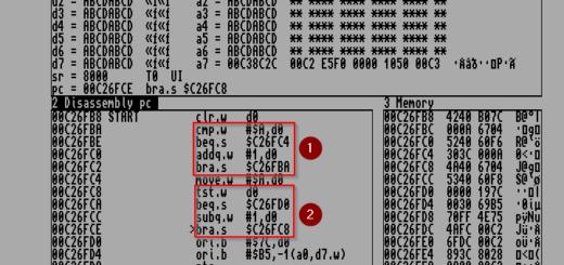 Amiga Assembler Schleife