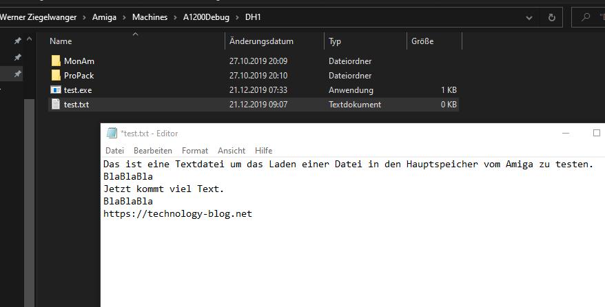 Text Datei zum Einlesen