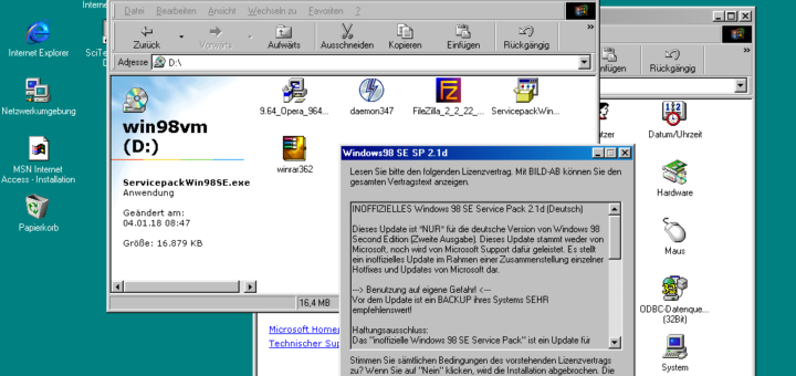 Windows 98 Service Pack