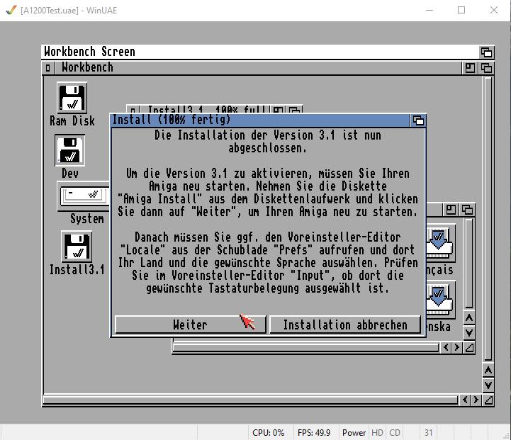 Amiga OS deutsches Sprachpaket