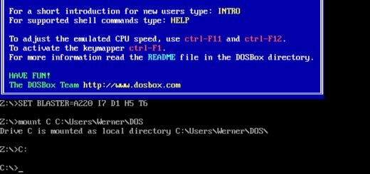 DOS Box Installation