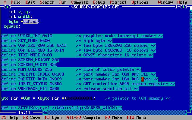 DOS programmieren Beispiel 5