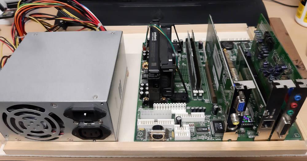 Board mit ISA PCI Karten
