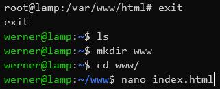 neue index.html erstellen