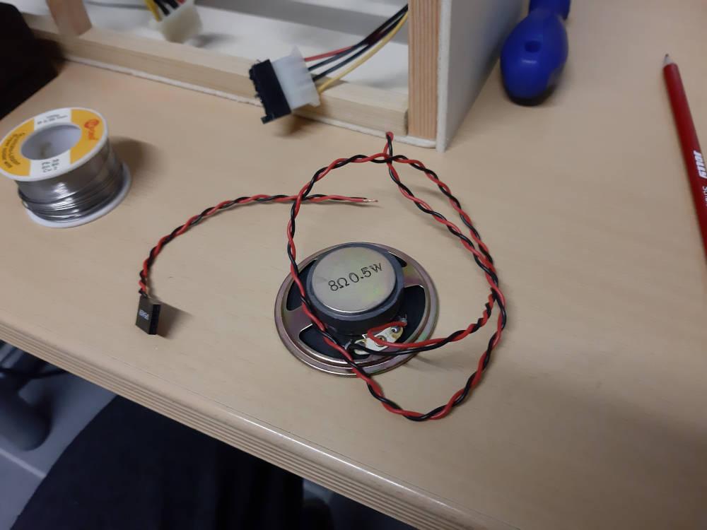 PC Speaker löten