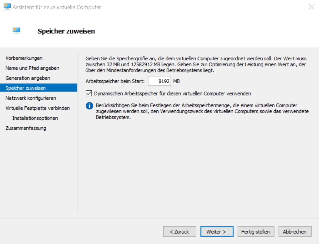 Ubuntu RAM einstellen