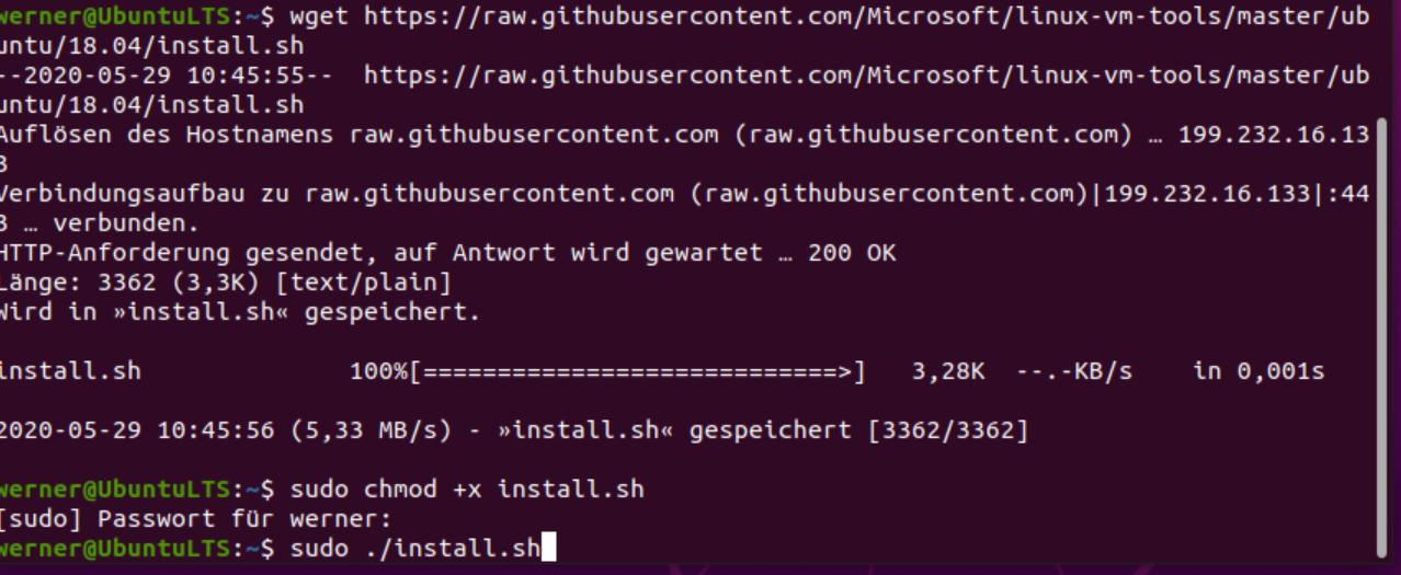 ubuntu xrdp Installions Script