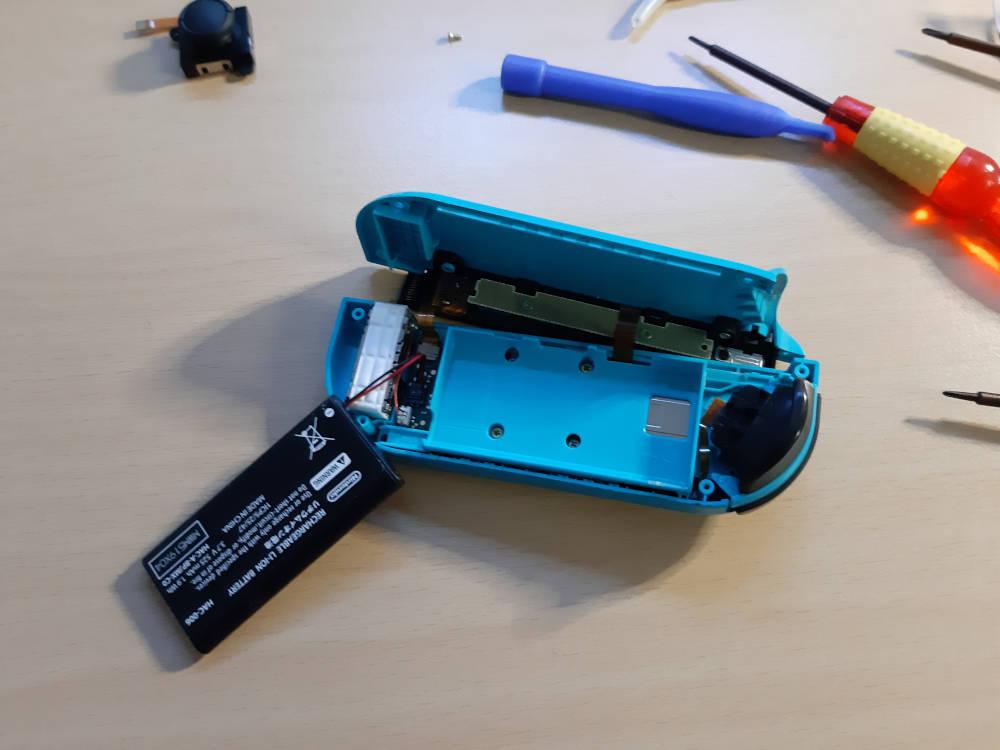Switch Controller reparieren