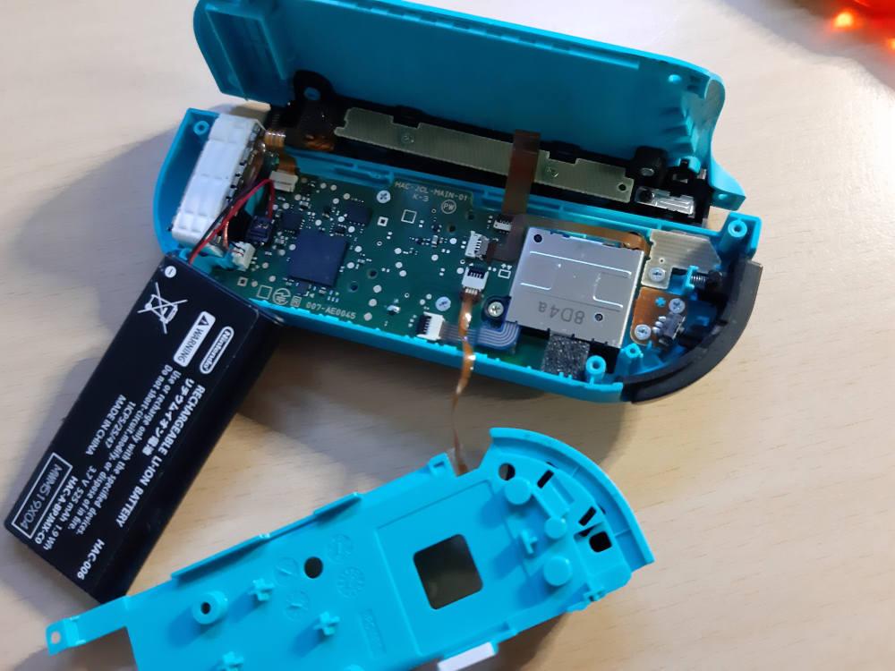 Switch Joypad reparieren
