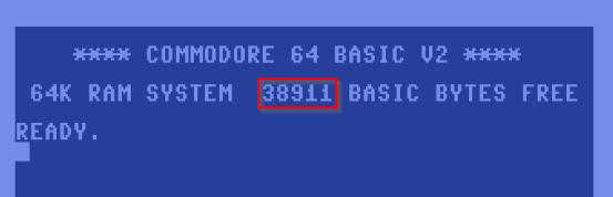 Commodore 64 RAM