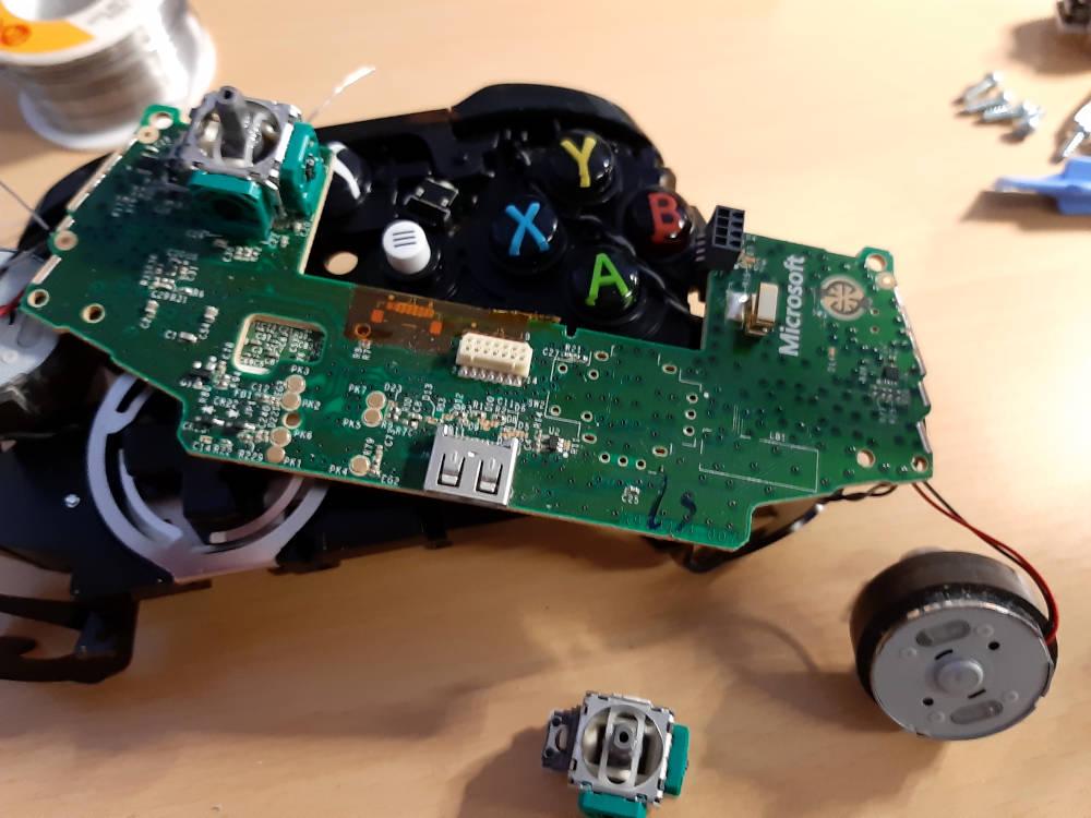 XBox Controller Joystick getauscht