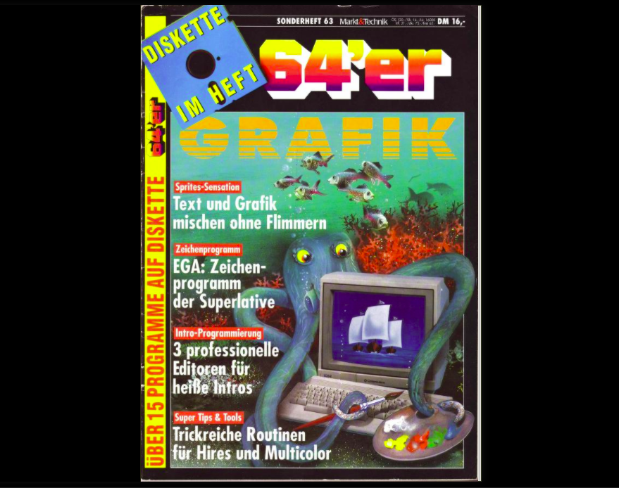 Internet Archiv Commodore 64 Grafik