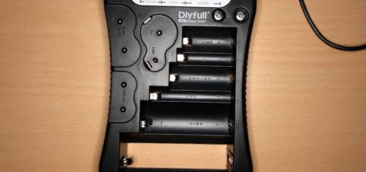 Universal Batterietester ausprobiert