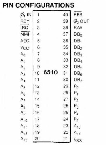MOS 6510