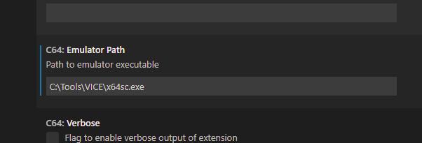 vs64 VICE C64 Emulator